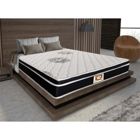 Imagem de Cama box + Colchão Sempre Firme Casal D65 Pillow - Espuma - 138X188