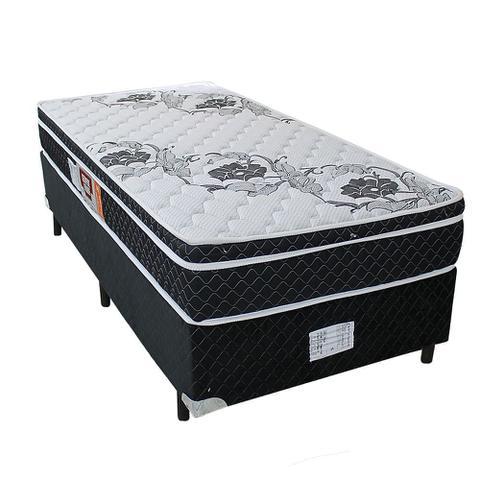 Imagem de Cama box + Colchão Sempre Firme Solteiro D65 Pillow - Espuma - 088X188