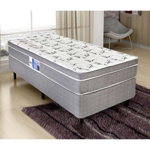 Imagem de Cama Box de Solteiro Barcelona (49x188x88) Cinza