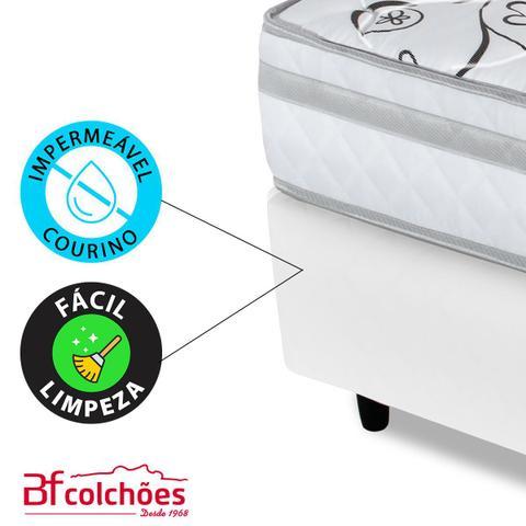 Imagem de Cama Box Queen (Box + Colchão) Ortopédico Extra Firme Certificado 158x198x58cm BF Colchões