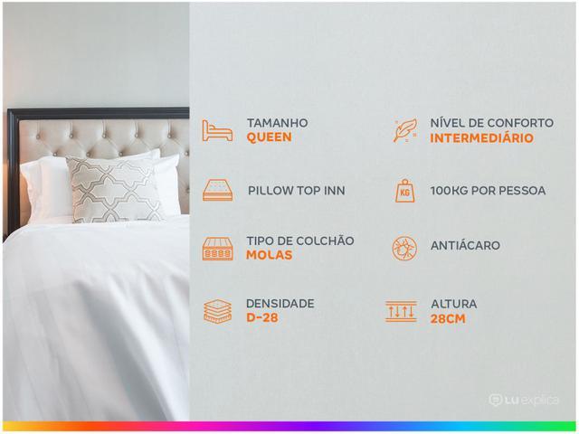 Imagem de Cama Box Queen (Box + Colchão) Plumatex