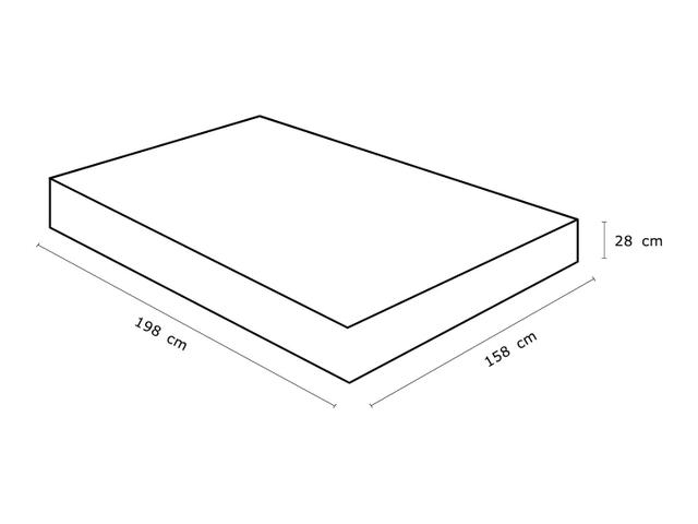 Imagem de Cama Box Queen Size (Box + Colchão) Celuplás Mola