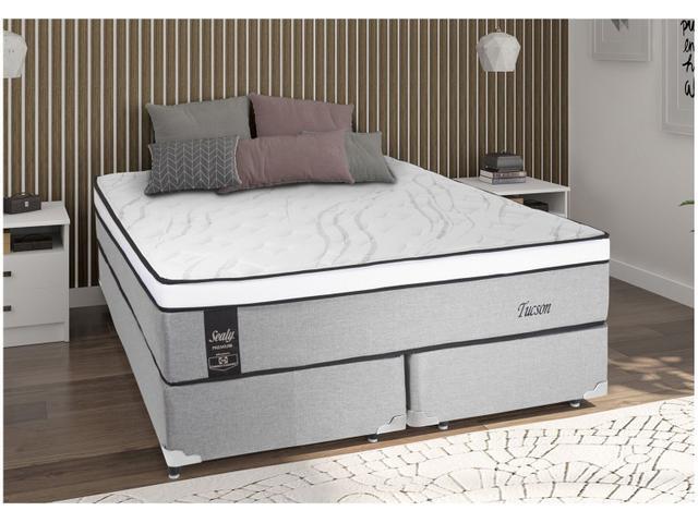 Imagem de Cama Box Queen Size (Box + Colchão) Sealy