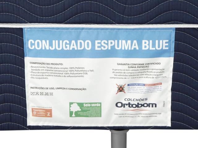 Imagem de Cama Box Solteiro Ortobom Conjugado 43cm de Altura