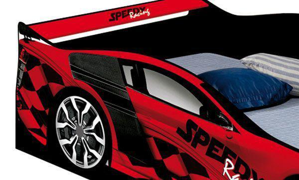 Cama Carro Speed Solteiro Vermelho - JA Móveis - Ja móveis - Cama ... 4aa07187e1c