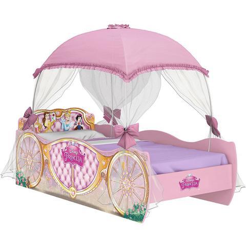 Imagem de Cama Infantil Princesas Disney Star com Dossel Pura Magia