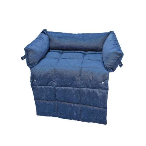 Imagem de Cama para sofá azul