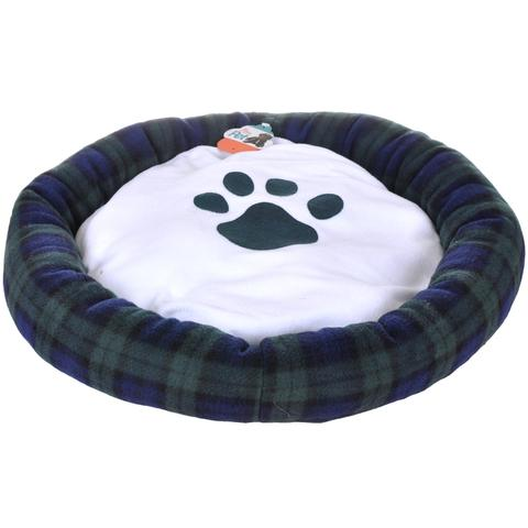Imagem de Cama Pet Para Cachorro e Gato Azul 55x55cm - Meu Pet