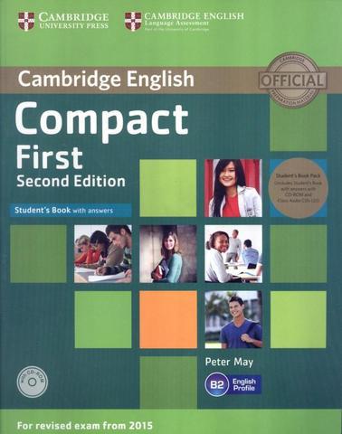 Imagem de Cambridge english compact first sb with cd-rom - 2nd ed - Cambridge University