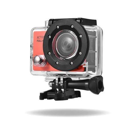 Câmera Digital Action Sports Prova D'água Preto 16.0mp