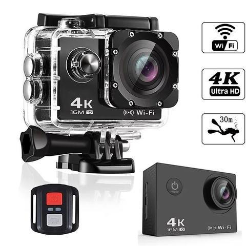Imagem de Câmera Action Go Cam Pro Sport Ultra 4k Com Controle Prova D'água Wifi Cores Sortidas