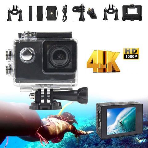 Imagem de Câmera Action Go Cam Pro Sport Ultra 4k Full Hd Prova D'agua