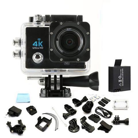 Imagem de Camera Action Go Cam Pro Sport Ultra 4k Full Hd Prova Dagua