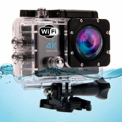 Imagem de Câmera Action Go Cam Pro Ultra 4k Sport Wifi Hd Prova Dágua