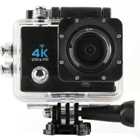 Imagem de Camera Action Pro Sport 4k Gocam Full Hd Prova Agua Wifi Moto Capacete Skate Surf Bike