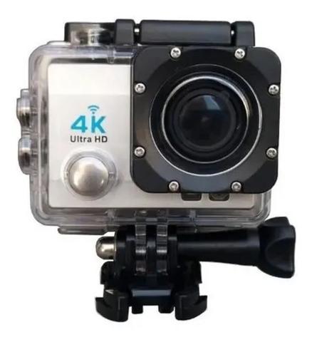Câmera Digital Action Sports a Prova D'água Prata 12.0mp