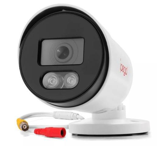 Imagem de Câmera Bullet Ípega KP-CA166 1080P/2MP Plástico Colorida a Noite
