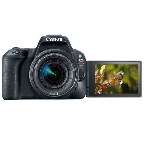 Imagem de Câmera Canon Digital Profissional Rebel Sl2 18-55 , 24,2 MP - Preto