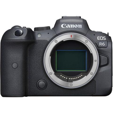 Câmera Digital Canon Eos Mirrorless Corpo Preto 20.0mp - R6