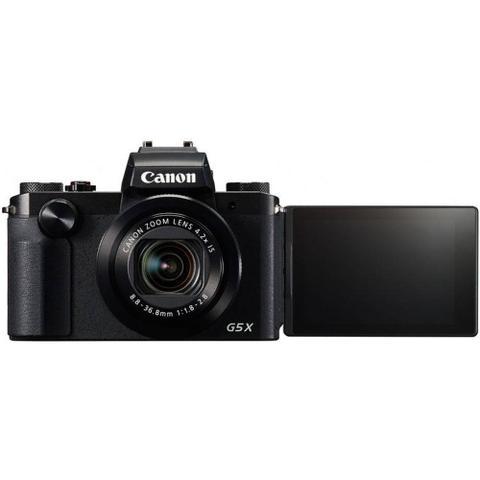Imagem de camera canon powershot g5x 20 mp/4.2x / wifi preto