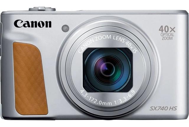 Câmera Digital Canon Powershot Prata 20.3mp - Sx740hs