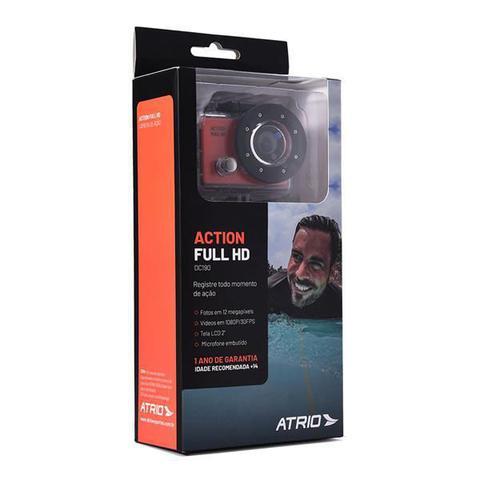Imagem de Câmera De Ação Action Full Hd 1080P - Tela Lcd 2Pol - 12Mp 30 Fps 450 Mah - DC190