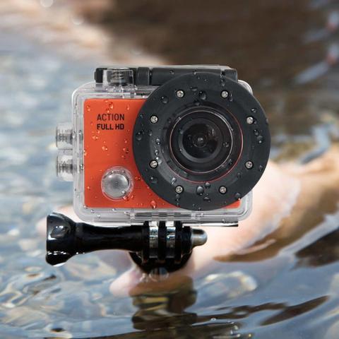 Imagem de Camera De Acao Action Full Hd 1080P Tela Lcd 2Pol 12Mp 30 Fps 450 Mah - DC190 - Atrio