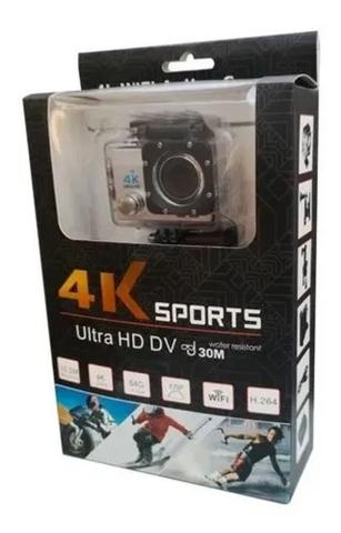 Imagem de Câmera De Ação Action Pro Sport 4k Wifi Mergulho Cor Preto