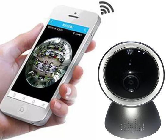 Imagem de Câmera de Segurança 2MP Mesa/Parede Acesso Remoto Fisheye