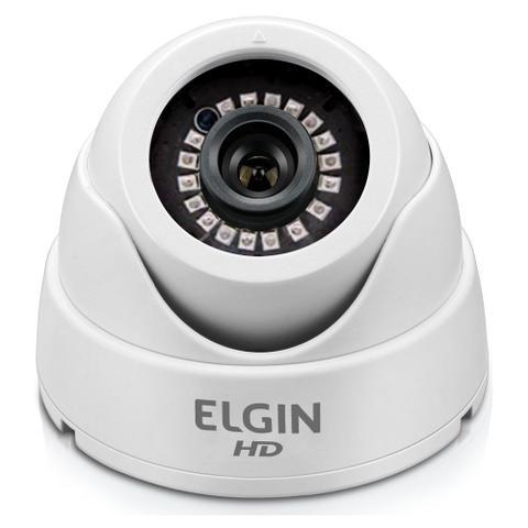 Imagem de Câmera de Segurança CFTV 4 em 1 Elgin Dome C41IMT2B HD 720p AHD/CVI/TVI/Analógico