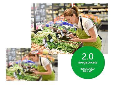 Imagem de Câmera de segurança Intelbras IP Full HD VIP 1220D Dome Geração 3