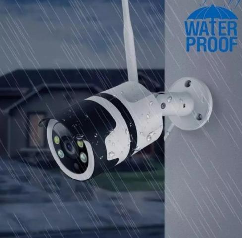 Imagem de Câmera de segurança IP wi-fi externa prova dágua HD sem fio