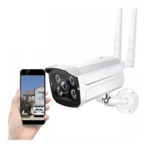 Imagem de Camera De Segurança Ip Wifi Externa Prova Dagua Sem Fio Hd 2Antenas