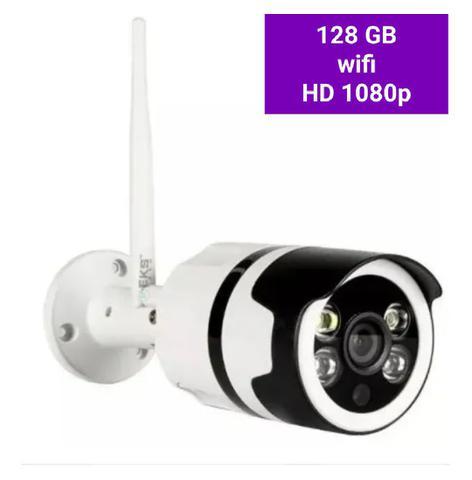 Imagem de Câmera de segurança IP wifi HD externa prova dágua sem fio