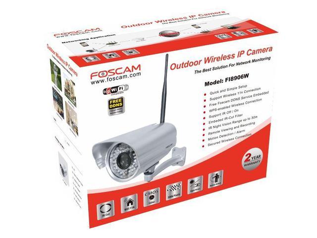 Imagem de Câmera de segurança ip wireless fi8906w - Foscam