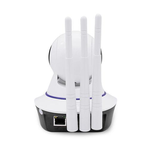 Imagem de Câmera de Segurança Sem Fio Ip Hd 720 Wifi com 3 Antenas