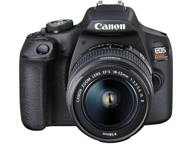 Imagem de Câmera Digital Canon DSLR Semiprofissional 24.1MP