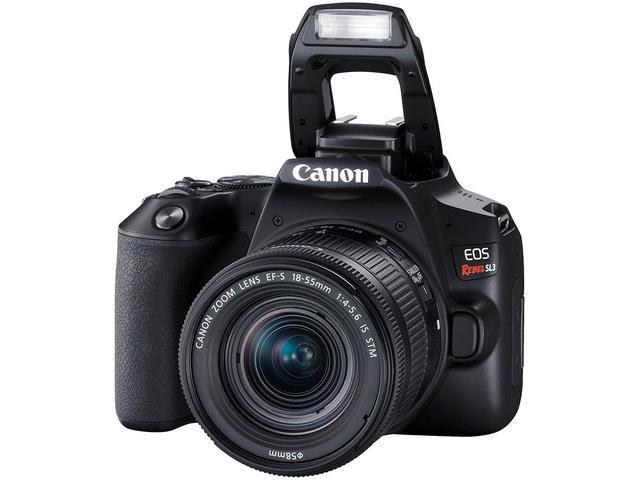 Imagem de Câmera Digital Canon DSLR Semiprofissional
