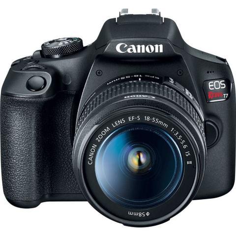 Imagem de Câmera Digital Canon Eos T7 Com 18-55mm