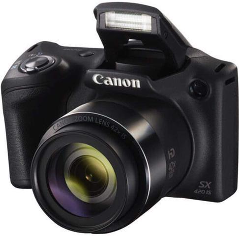 Câmera Digital Canon Powershot Preto 20.0mp - Sx420is