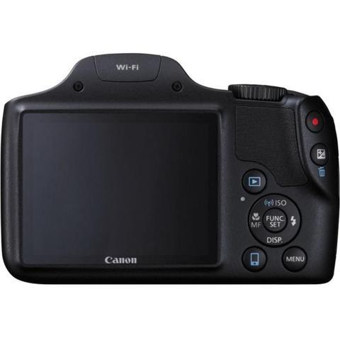 Imagem de Câmera Digital Canon Powershot SX530 HS Wi-Fi 16.0MP Zoom Óptico 50X Vídeo Full HD