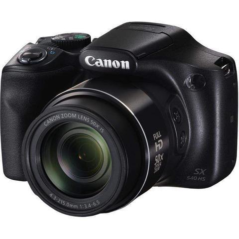 Câmera Digital Canon Powershot Preto 20.3mp - Sx540hs