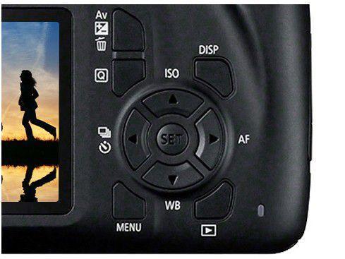 Imagem de Câmera Digital Canon Semiprofissional 18MP