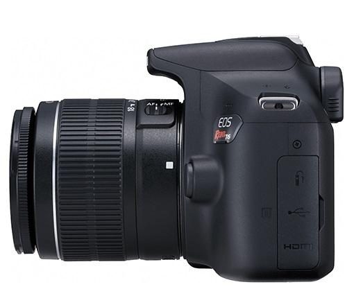 Imagem de Câmera Digital Canon T6 EF-S 18-55 f/3.5-5.6 III BR 18MP