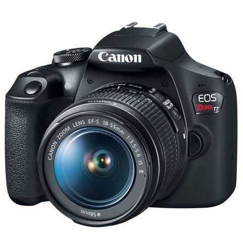 Imagem de Câmera digital eos t7+ com lente 18-55mm  canon