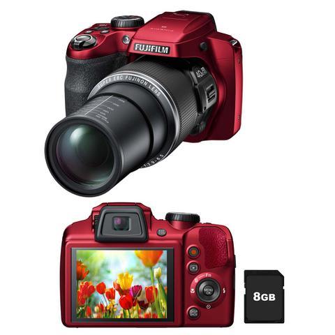 Imagem de Camera digital finepix s8200 vermelha