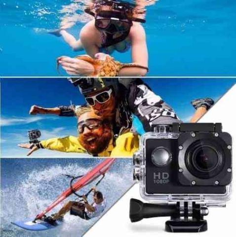 Câmera Digital Sport Dv Preto Mp - Sj4000
