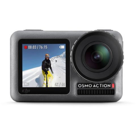 Câmera Digital Dji Osmo Action Cinza 12.0mp