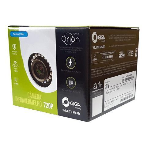 Imagem de Câmera dome plastico serie orion 720p 1 megapixels alcance ir 20m 1/4 2.6mm ip66 gs0019