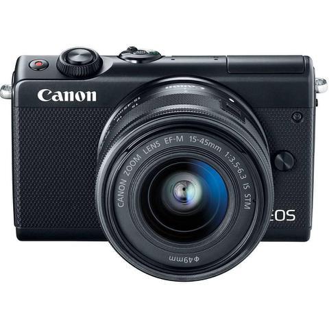 Imagem de Câmera DSLR Canon EOS M100, 24.2MP, 3.0